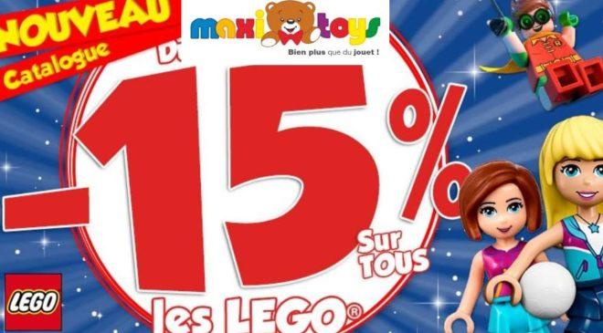 remise sur tous les Lego sur Maxitoys
