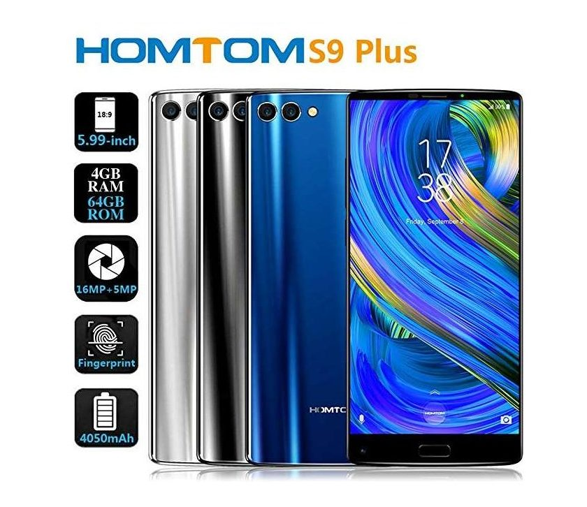 smartphone HOMTOM S9 Plus