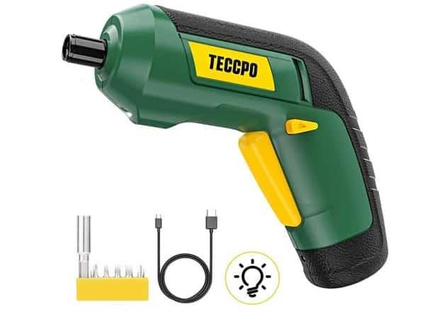 Tournevis électrique Rechargeable Teccpo Tdsc03p