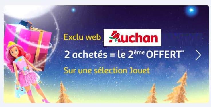 1 jouet acheté = 1 jouet offert sur Auchan