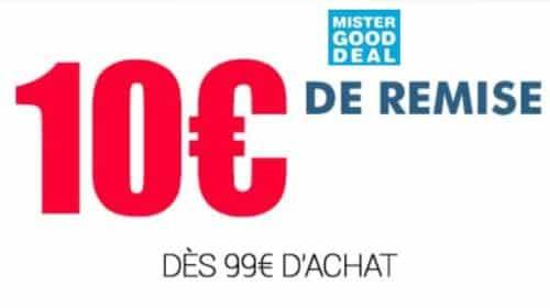 10€ de remise sur MisterGoodDeal