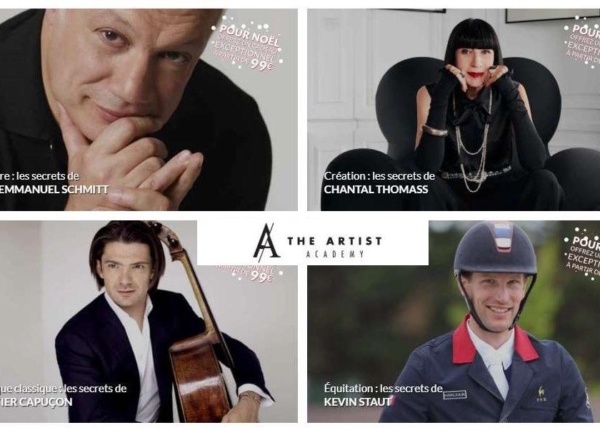 15€ de remise sur The Artist Academy en ligne
