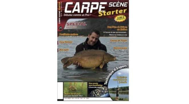 Abonnement magazine Carpe Scene Starter pas cher