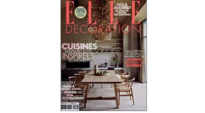 Abonnement magazine ELLE Décoration pas cher : 14,9€ au lieu de 48,1€ (10 numéros dont HS)