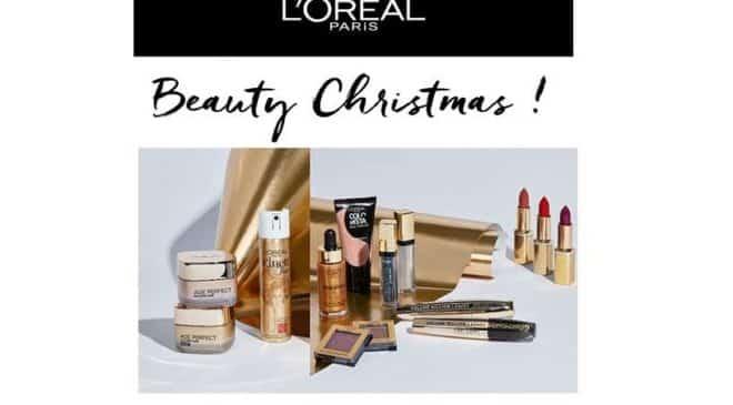 Beauty Christmas Days : -20% de remise sur tout le site l'Oréal