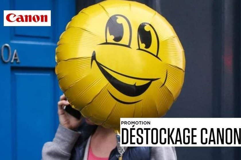 Déstockage Canon