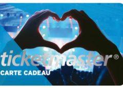 Livraison gratuite sur les cartes cadeaux Ticketmaster