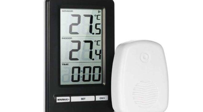 PROMO thermomètre hygromètre sans fil Anself