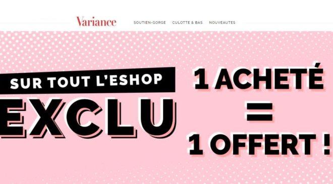 Variance Lingerie 1 article gratuit