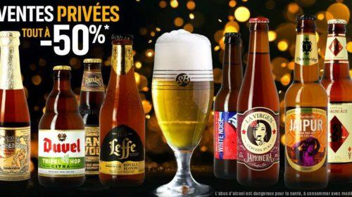 Vente Privée Saveur Bière