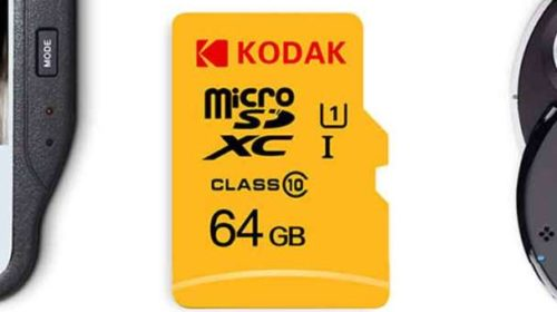 Vente flash carte micro SD 64Go Kodak U1