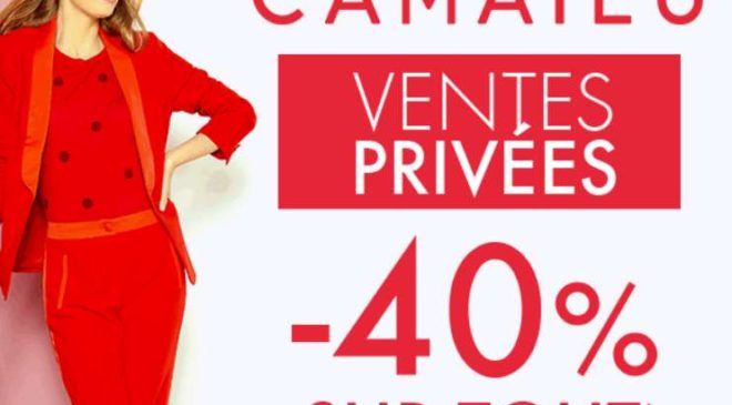 Vente privée Camaïeu