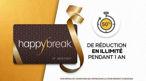 Vente privée carte Happybreak