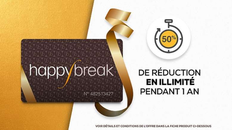 Vente privée carte Happybreak