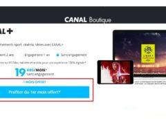 1 mois abonnement à CANAL+ gratuit sans engagement
