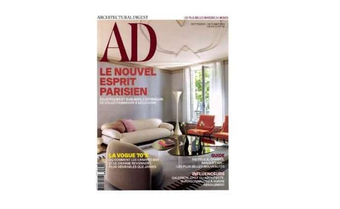 Abonnement Au Magazine Ad Architectural Digest
