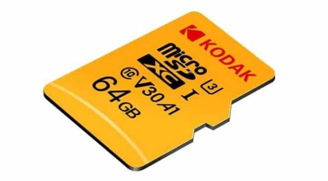 carte micro SD 64Go Kodak U3