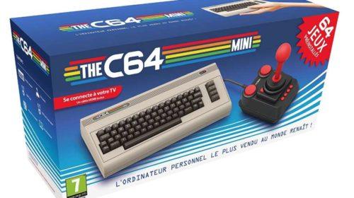 console The C64 Mini (64 jeux + joystick)