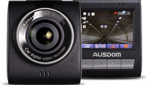 dashcam Full HD Ausdom + carte SD 16Go