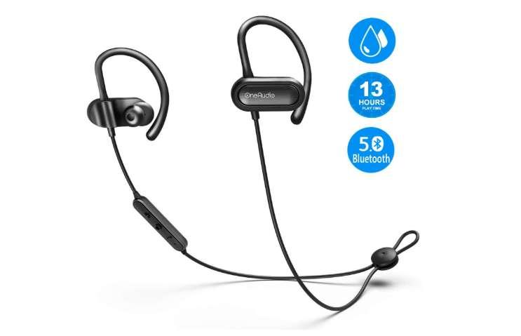écouteurs sans fil Bluetooth 5.0 OneAudio avec micro