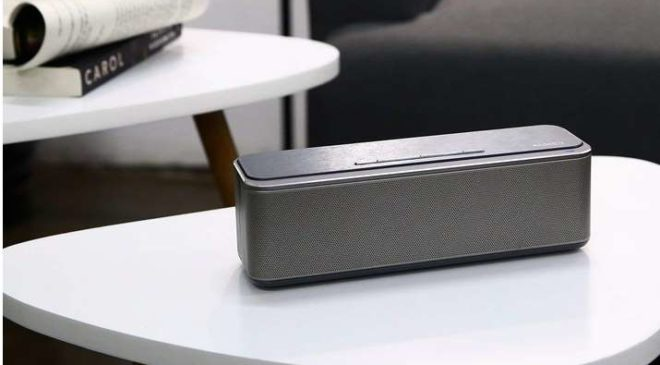 enceinte Bluetooth 16W métal Aukey SK-S1