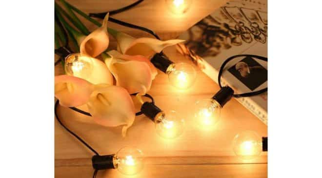 guirlande extérieure 25 ampoules boules