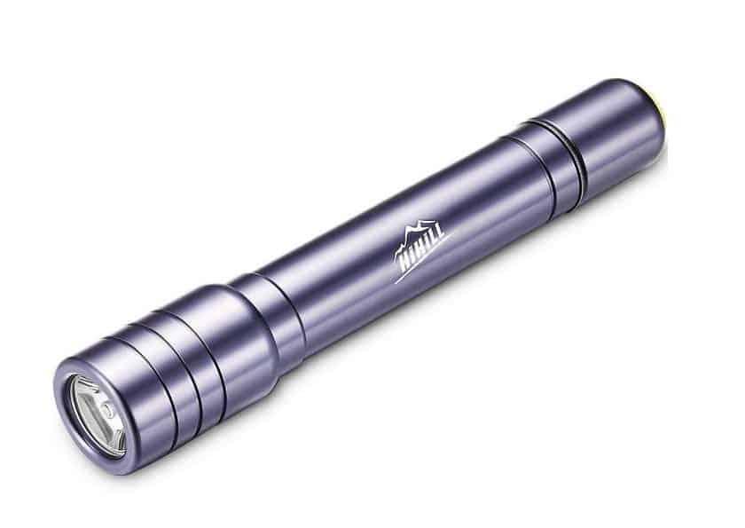 lampe torche étanche LED aluminium HiHiLL