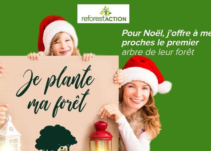 planter ou offrir un arbre à planter en ligne avec Reforest'Action