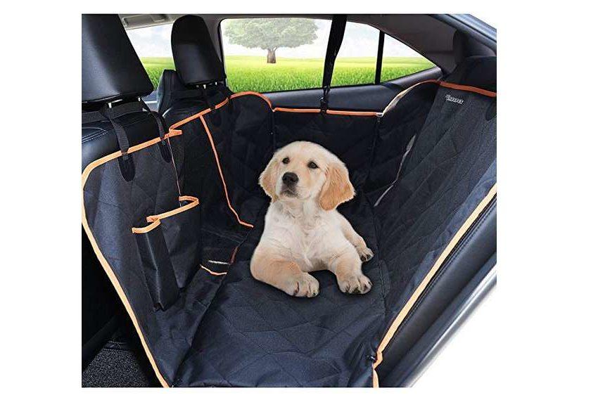 protection complète imperméable de banquette arrière pour chien Dadypet