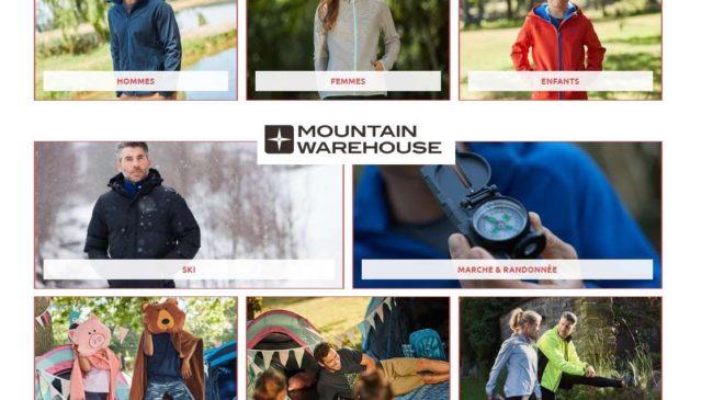 remise en plus et livraison gratuite sur Mountain Warehouse