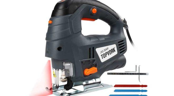 scie sauteuse 7 vitesses et guide laser TOPVORK