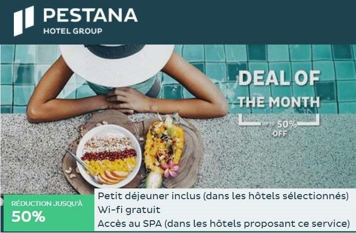 50% sur votre séjour au Portugal ou Madère