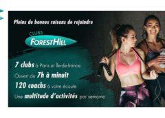Abonnement illimité clubs Forest Hill Paris moins cher