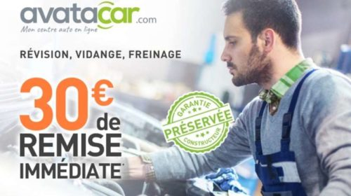 Bon de réduction Avatacar