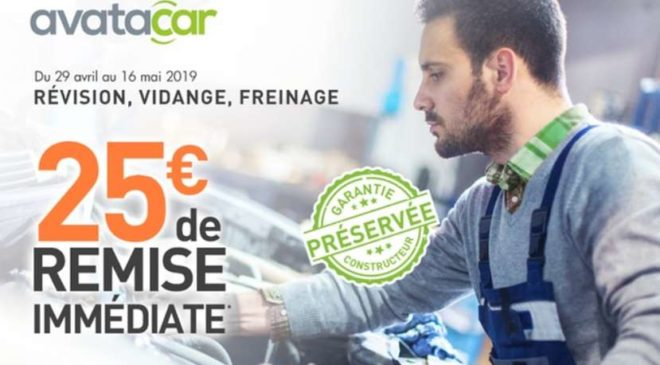 Bon de réduction Avatacar GROUPON