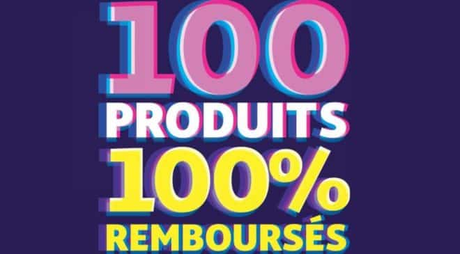 Catalogue des soldes Auchan 2019 100 produits 100% remboursés