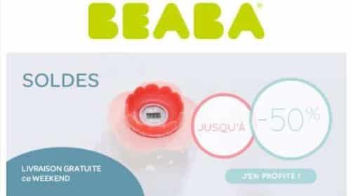 Livraison gratuite sur la boutique Béaba et soldes