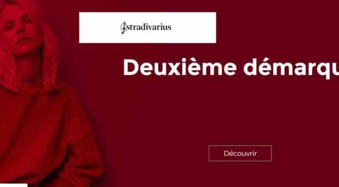 Nouvelles démarques sur les Soldes Stradivarius