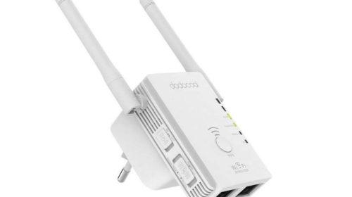 OFFRE répéteur Wi-Fi double antenne 300Mbps dodocool