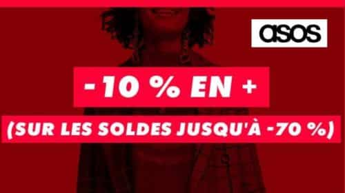 Soldes Asos remise supplementaire code promo