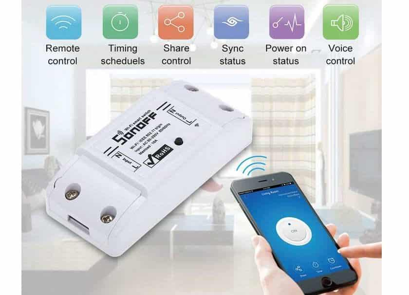 Switch WiFi Sonoff ITEAD 10A