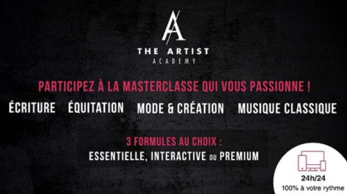 Vente Privée The Artist Academy