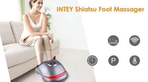 appareil de massage de pieds Shiatsu Intey