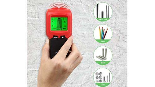 détecteur de matériaux 3 en 1 Intey avec écran