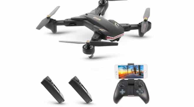 drone Goolsky VISUO XS809S avec camera grand angle