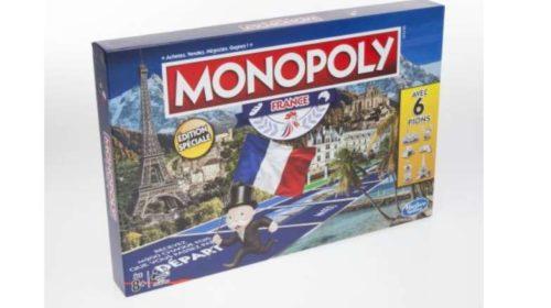 jeu Monopoly Edition France de Hasbro