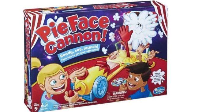 jeu Pie Face Cannon de Hasbro en soldes