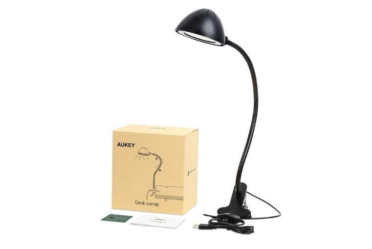 lampe de bureau avec pince flexible Aukey PROMO