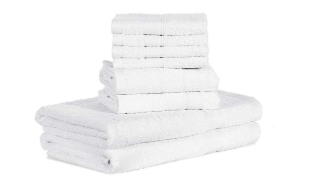 lot de 10 serviettes de toilette Htovila
