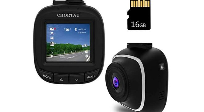 mini camera auto dashcam CHORTAU a bas prix